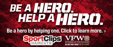Sport Clips Haircuts of Biltmore Park Town Square ​ Help a Hero Campaign